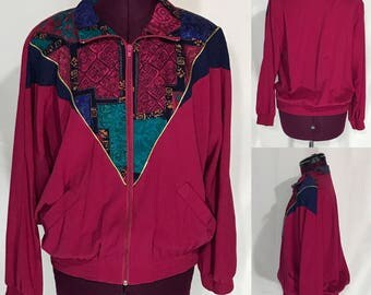 1980's | Shoulder Padded | Alfred Dunner Jacket