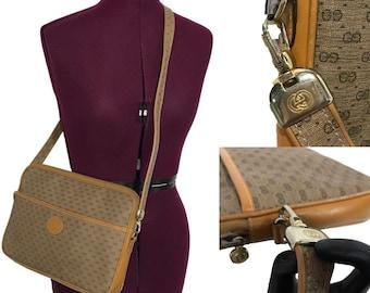 1980's   AUTHENTIC   Gucci Crossbody Bag