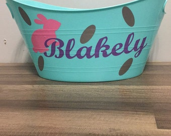Easter Bucket! Personalize it your way!
