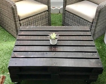 Industrial Pallet Coffee Table **LOCAL PICKUP ONLY**