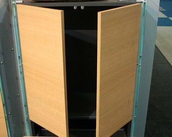 Glass shelf glass sideboard Highboard