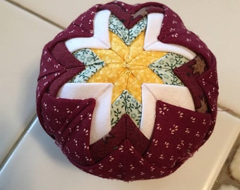 Hand Quilted Christmas Ornament