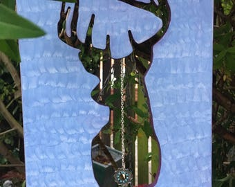 Stag Silhouette Wall Decor