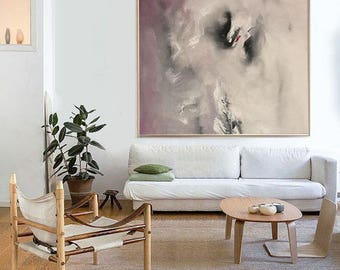 Large Abstract Painting Abstract Print Modern Wall Art Wall Decor Abstract Painting Original Painting Print On Canvas by Julia Kotenko