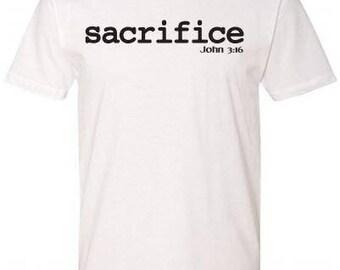 SACRIFICE - JOHN 3:16