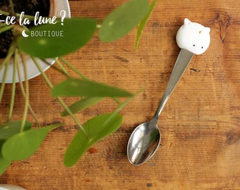 Spoon / Tea Spoon: Moon Cat