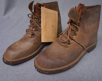 Shoe height man 1930 / 1940's. Vintage 1930/1940 boots