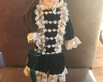 Franklin Heirloom Dolls 1984, 15inches