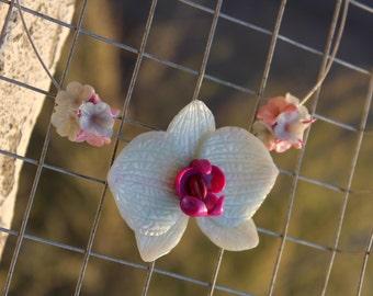 Blue Orchid Pendant