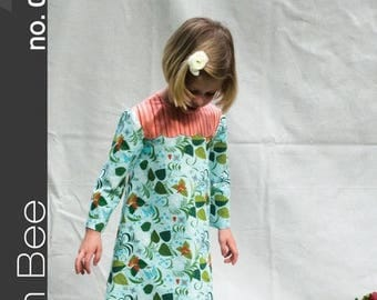Green Bee Lily Dress Pattern
