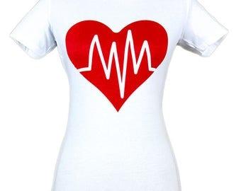 Heart Beat T-Shirt Women