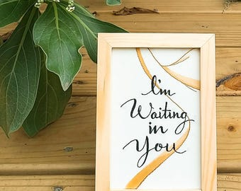 Seed Project × LC | Praise In The Desert Series 1/3 - I'm Waiting In You