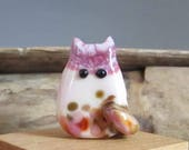 Abigail PussyCat - Handmade Cat Bead Lampwork by teribeads