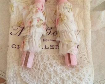 Peg dolls in bag