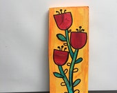 Red Flowers - Original Mi...
