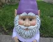Garden Gnome - Gnome Statue - Gnome Figurine - Outdoor Decor - Garden Decor - Cute Ceramic Gnome - Yard Art