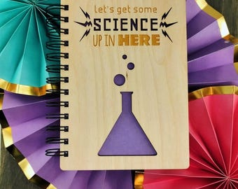 Let's Get Some Science Up In Here - Lasercut Wood Journal