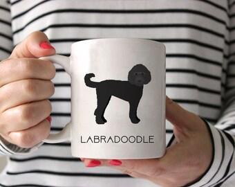 Labradoodle Coffee Mug - Labradoodle Ceramic Mug  - Dog Mug - Gift for Coffee Lovers - Labradoodle Lover Gift - Labradoodle Mug