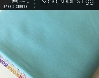 Kona cotton solid quilting fabric, Kona ROBINS EGG 1514, Aqua fabric, Woodland Blanket Fabric, Kaufman, Woodland Nursery, Choose the cut