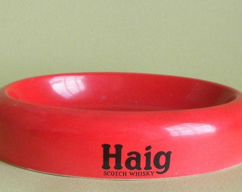 Haig Scotch Whiskey Advertising Ash Tray by Carlton Ware