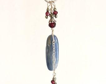 Powerful Kyanite & Garnet Necklace