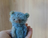Reserved/Sold to Steph : Brooke the Bear by Woollybuttbears