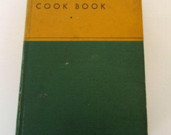 Vintage Cook book 1930s General Foods Cook book, Vintage Recipes, Old Cookbook third edition