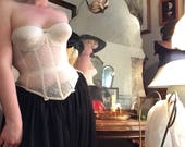 THE Warners Original Merry Widow Ivory Lace 34 35
