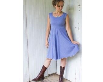 Hyacinth Dress - Hemp & Organic Cotton Lightweight Jersey - Made to Order - Many Colors Available - Eco Fashion - Boho Chic