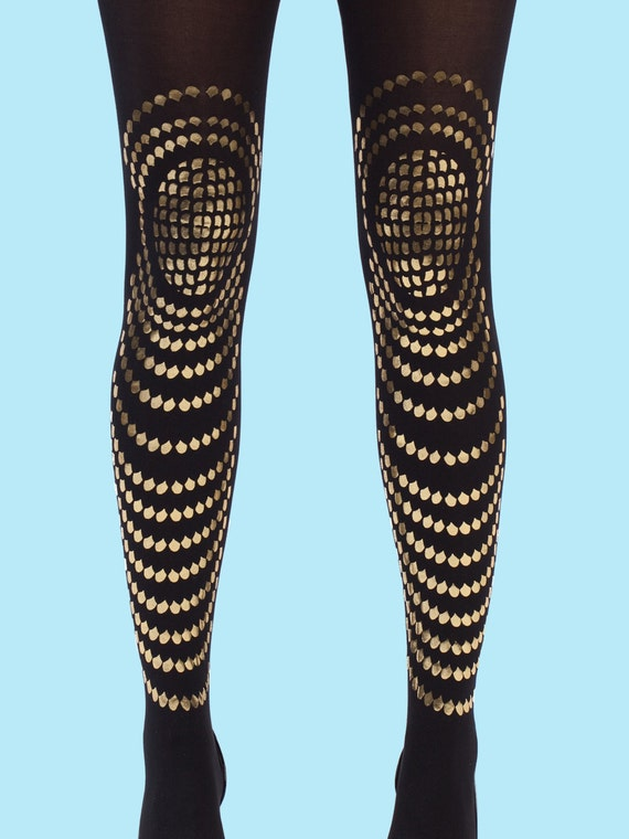 Gifts for her, Gold tights for women, gift ideas, partywear, gift for her available in S-M, L-XL