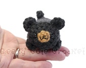 Black Bear Yami Amigurumi Plush Toy Stuffed Animal Crochet
