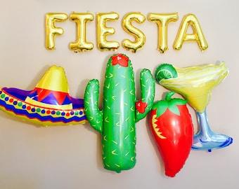 FIESTA Balloon Letters, Fiesta, Fiesta Letter Balloons, Fiesta Banner, Fiesta Banner Kit,FIesta Party,Fiesta Theme, Fun Fiesta,Fiesta Decor,