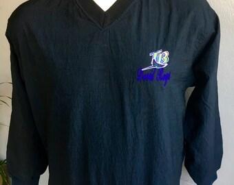 Tampa Bay Devil Rays MLB 1990s vintage windbreaker pullover - size large