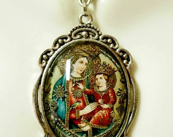 Our Lady of Grace Montenero pendant and chain - AP09-219