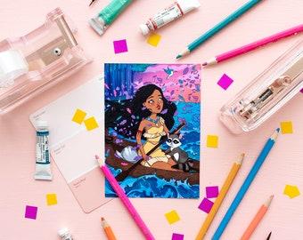 Disney Princess Postcard Pack