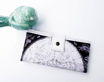 Astronomical map wallet, astronomy gift, women wallet, cute wallet, science gift, best selling wallet, best wallet for women