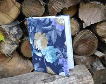 Writing Journal /  Handmade Sketchbook / Handmade Journal / Unique Journal /  Notebook /  Diary /  A5. 8 x 6 inch Flowers