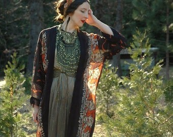 Vintage boho fashion