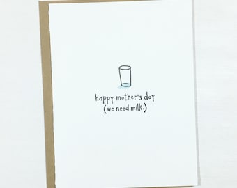 Funny Happy Mother's Day Card • Mom card • Stepmom • Grandmother • Busy Mom card • from kids
