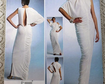 Vogue 1305, Misses' Dress Sewing Pattern, Evening Dress Pattern, Lialia by Julia Alarcon, Misses' Size 14, 16, 18, 20, 22, Uncut