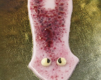 Fused Glass Planarian Dish