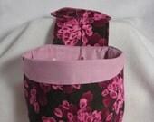 Stay Put Pouch Rose Floral Car Trash bag