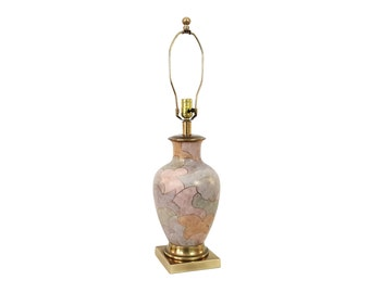Vintage Frederick Cooper Pottery Lamp Deco Inspired Japanese Porcelain Hollywood Regency