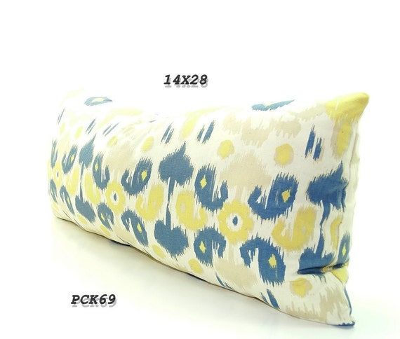 Items similar to CLEARANCE sale, long bed pillow, tribal pillow cover, long bolster pillows ...