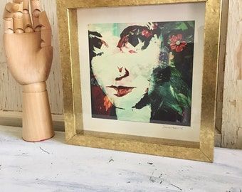 Flower girl - fine art photography framed print