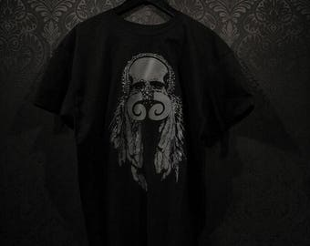 Tribal skull Tshirt