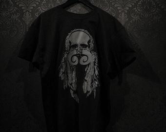 Tribal skull Tshirt