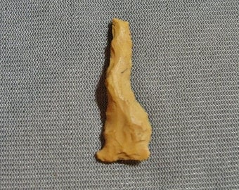 Authentic Woodland Period (1000 BC - 800 AD) Stone Drill From Mississippi Delta