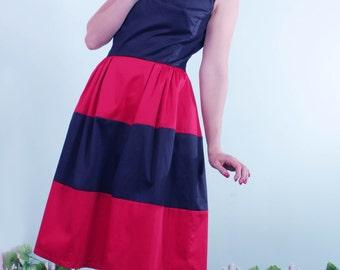 Sandy Nautical layered Dress