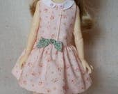 "SOFTLY PINK  made to fit 13"" Avery Meadowdoll and 13"" Little Darling Effner  by Darla"